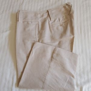 J Crew linen cotton pants